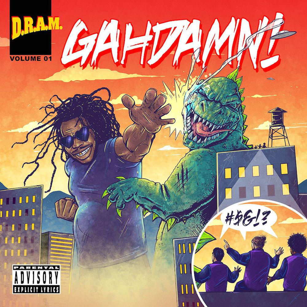 DRAM-Gahdamn-EP